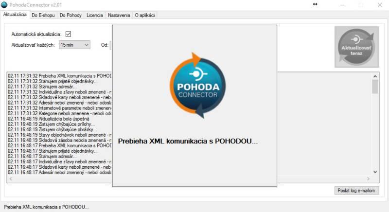 Aktualizacia - Klient PohodaConnector 3373ef6f9cc
